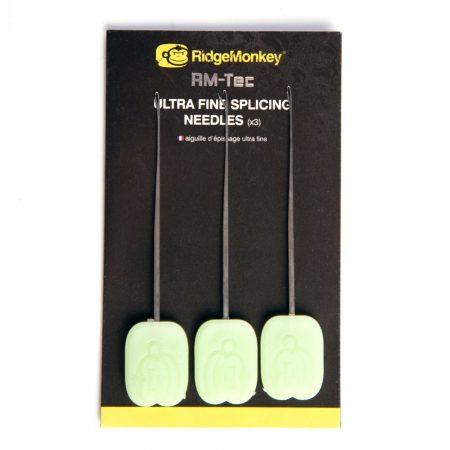RidgeMonkey Ultra Fine Splicing Needle X3 Fűzőtű 3db/csomag