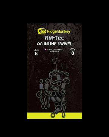 RidgeMonkey RM-Tec Quick Change Inline Swivel