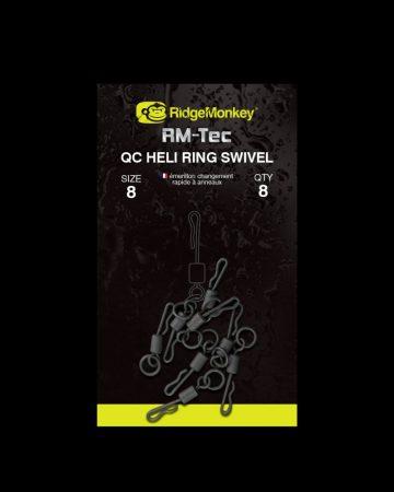 RidgeMonkey RM-Tec Quick Change Heli Ring Swivel