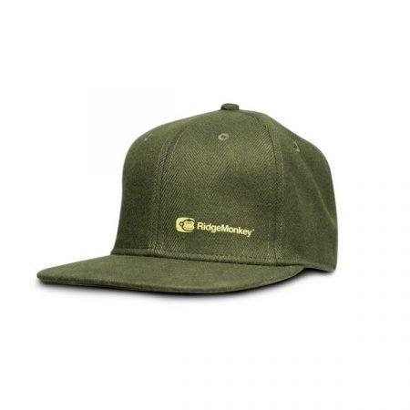 RidgeMonkey Apearel Dropback Green Snapback sapka