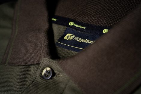 RidgeMonkey APEarel Dropback Polo Shirt Green