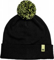 RidgeMonkey Dropback Bobble Hat Black Téli Sapka
