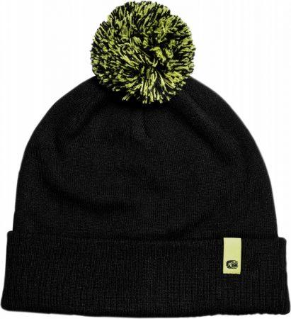 RidgeMonkey Dropback Bobble Hat Black Téli Sapka