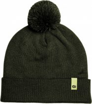 RidgeMonkey Dropback Bobble Hat Green Téli Sapka