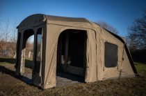 RidgeMonkey Escape XF2 Standard with Plus Porch Extension Sátor Frontpanellel