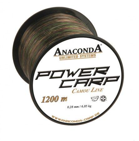 Anaconda Power Carp Camou Line 1200m 0,35mm