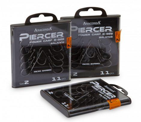 Anaconda Piercer Chod Hook (szakállas)