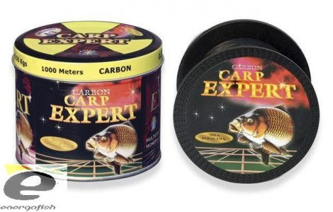 Carp Expert Carbon 1000m, Fémdobozos zsinór 0,25mm