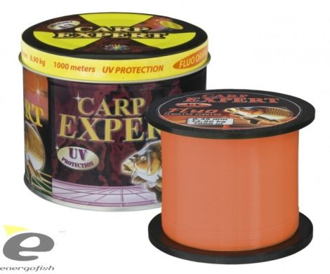 Carp Expert UV Fluo Orange 1000mt, Fémdobozos zsinór 0,30mm