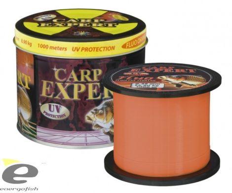 Carp Expert UV Fluo Orange 1000mt, Fémdobozos zsinór 0,35mm
