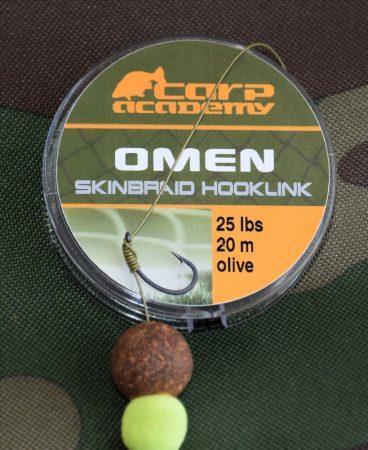 Carp Academy Omen Skinbraid Olive 20m