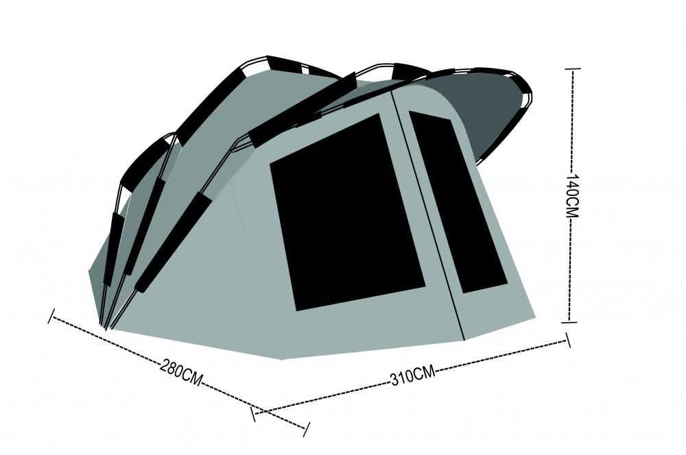 Anaconda Dawn Breaker II Bivvy Sátor - Carp-Pláza - Horgászsportban ... 574e5ca0cd