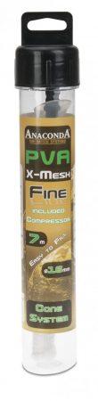 Anaconda PVA Háló Fine X Mesh Cone Compressor System 7m 16mm