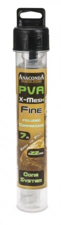 Anaconda PVA Háló Fine X Mesh Cone Compressor System 7m 22mm
