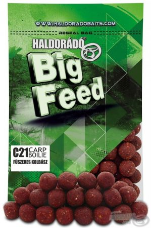 Haldorádó Big Feed - C21 Boilie - Fűszeres Kolbász 800gr