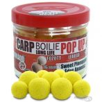 Haldorádó Carp Boilie Long Life Pop Up 16, 20 mm - Édes Ananász 40gr