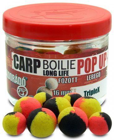Haldorádó Carp Boilie Long Life Pop Up 16, 20 mm - TripleX 40gr