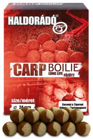 Haldorádó Carp Boilie Long Life 800gr 24 mm - Kókusz & Tigrismogyoró