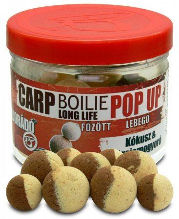 Haldorádó Carp Boilie Long Life Pop Up 16, 20 mm - Kókusz & Tigrismogyoró 40gr