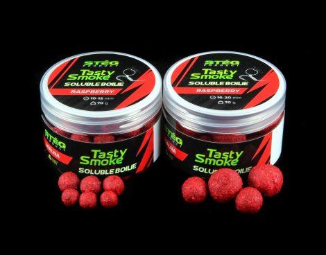 Stég Product Smoke Soluble Boilie 10-12mm Raspberry 70gr