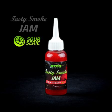 Stég Product Tasty Smoke Jam Sour Cherry 60ml