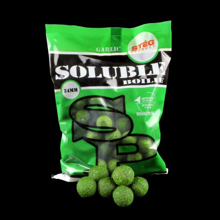 Stég Product Soluble Boilie 24mm Garlic 1kg