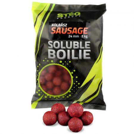 Stég Product Soluble Boilie 24mm Sausage 1kg