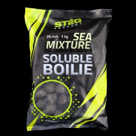 Stég Product Soluble Bojli 24mm Sea Mixture 1kg